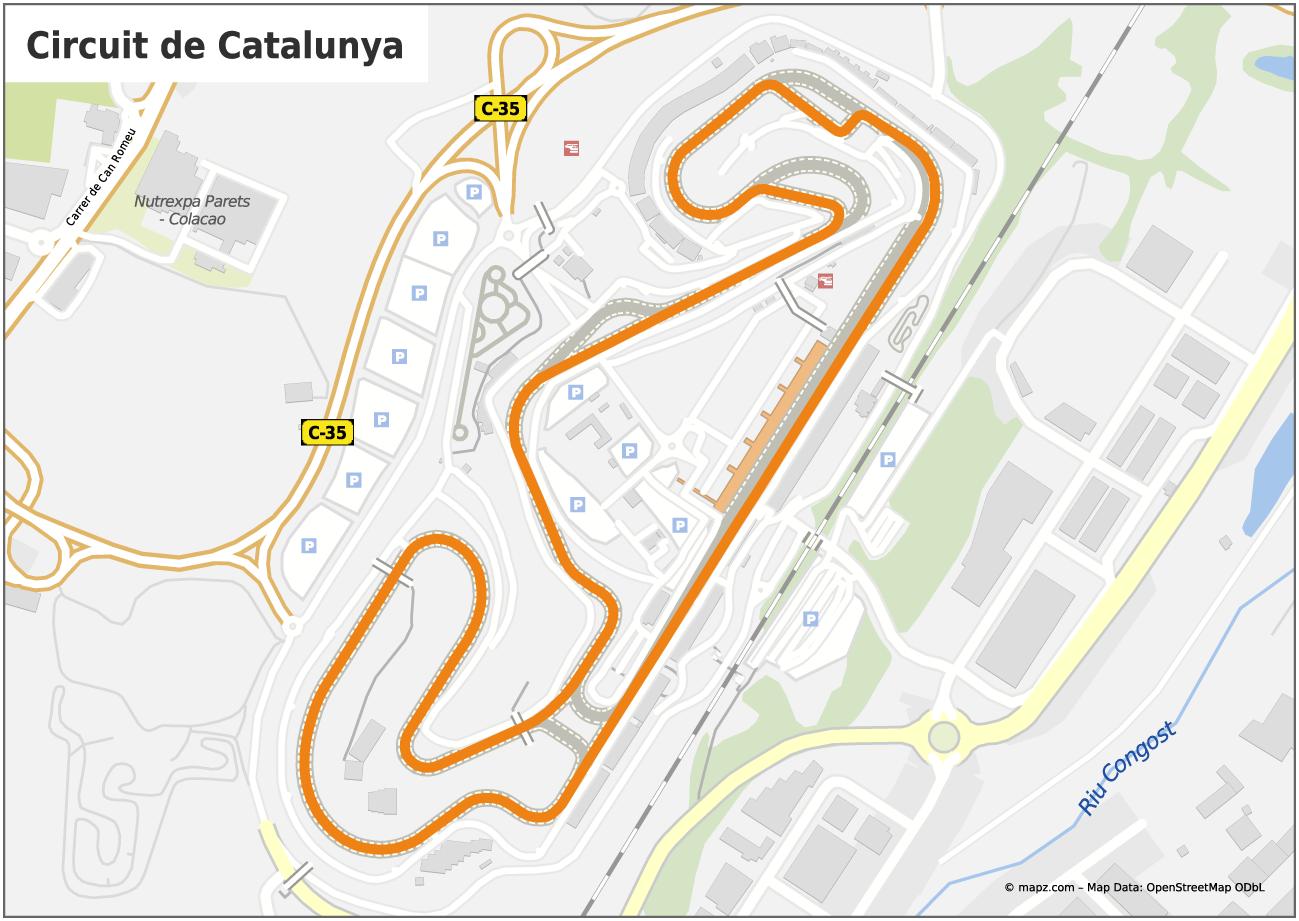 rennstrecke barcelona